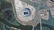 Lo stadio Kazan Arena (Ansa)