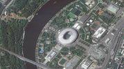 Lo stadio di Mosca Lužniki (Ansa)