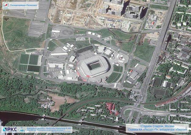 Lo stadio del Spartack Mosca, Otkrytie Arena (Ansa)