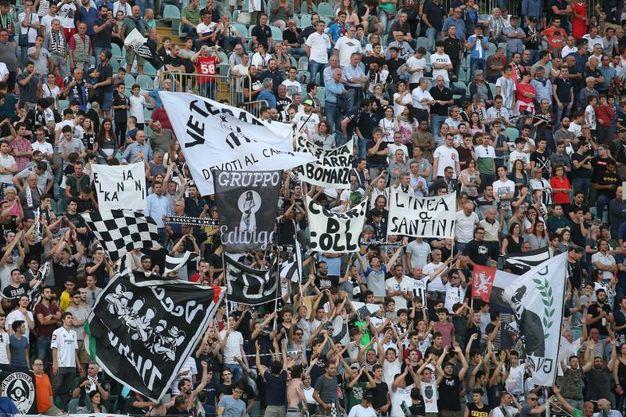 Siena-Reggiana, i tifosi (Foto Dipietro)