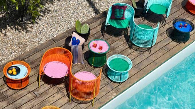 Arredo giardino: il colore vivacizza l'outdoor