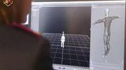 La nuova tecnica di comparazione tridimensionale (Ansa)
