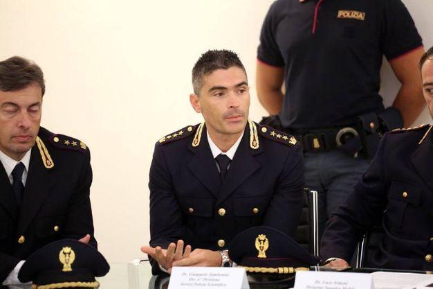 Gianpaolo Zambonini, ingegnere della Polizia scientifica (foto Schicchi)