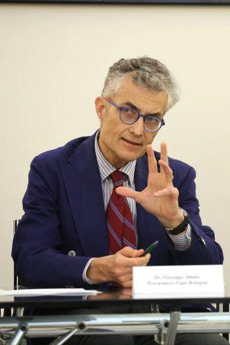 Il procuratore capo di Bologna, Giuseppe Amato (foto Schicchi)
