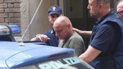 L'arresto di Stefano Monti, 59 anni, per omicidio volontario (foto Schicchi)