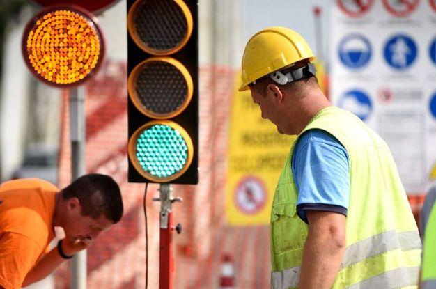 La parziale chiusura ha causato ripercussioni sul traffico (BusinessPress)