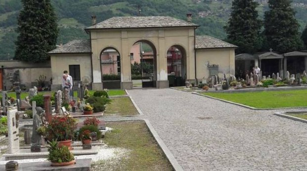 Cosio Valtellino, Il cimitero della frazione Regoledo (Orlandi)