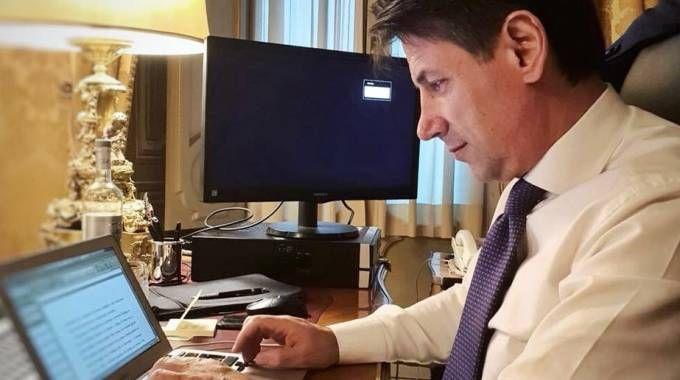 Il neo premier Giuseppe Conte