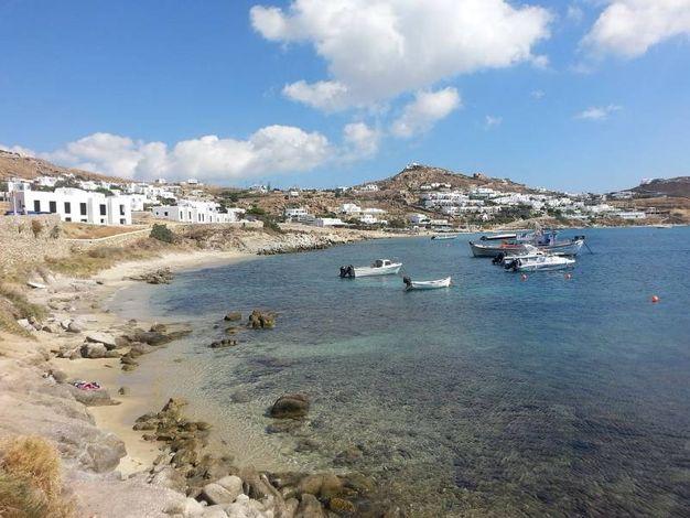 Mykonos - spiaggia