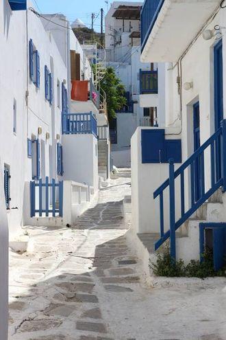 Mykonos - strada