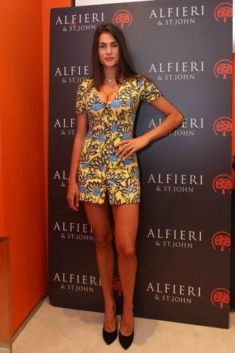 La giovane top model è anche famosa per una straordinaria somiglianza all'attrice mito Brooke Shields (Newpress)