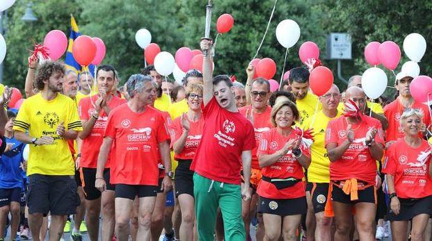 L'inaugurazione degli Special Olympics