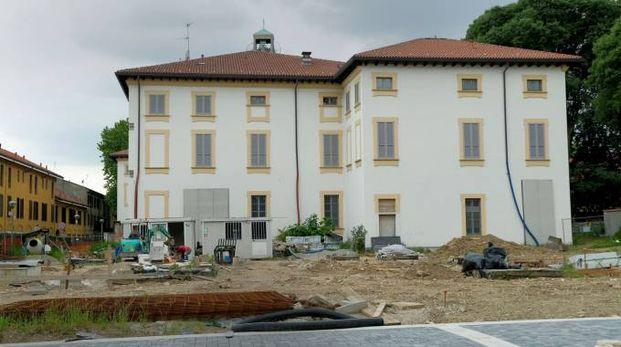 Il cantiere di Palazzo Omodei