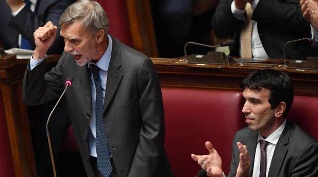 Graziano Delrio e Maurizio Martina (Ansa)