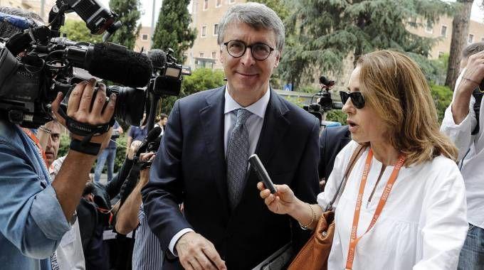 Il presidente dell'Anac Raffaele Cantone (Ansa)