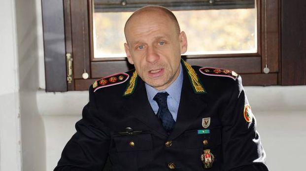 Il comandante della polizia locale Daniele Ruggeri
