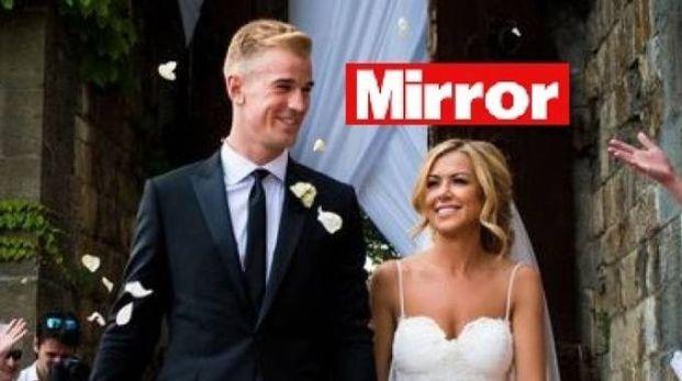 Il matrimonio del portiere Joe Hart a Fiesole