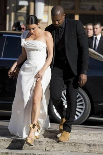 Kim Kardashan e Kanye West