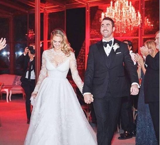 Justin Verlander e Kate Upton