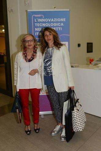 Gibertini (Terme Salvarola) e l'assessore Ludovica Carla Ferrari (FotoFiocchi)