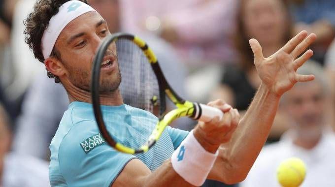 Marco Cecchinato è in semifinale al Roland Garros (Ansa)