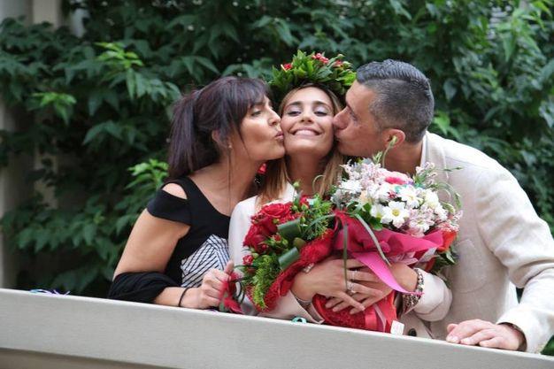La laurea di Rachele Risaliti (foto Giuseppe Cabras/New Pressphoto)