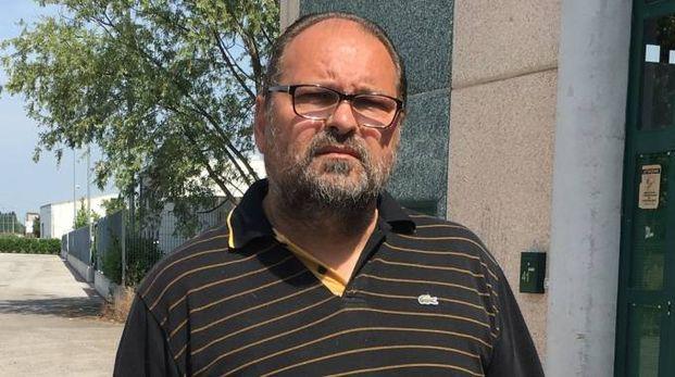 Raimondo Cattozzo, imprenditore di 50 anni e presidente del Bosaro, squadra di Seconda categoria (foto Moretto)