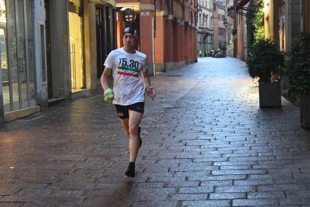 Un runner solitario (FotoSchicchi)