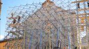 San Benedetto di Norcia, la messa in sicurezza