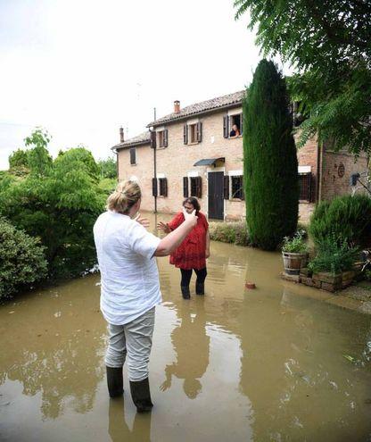 I temporali hanno colpito la provincia di Ferrara (foto Businesspress)