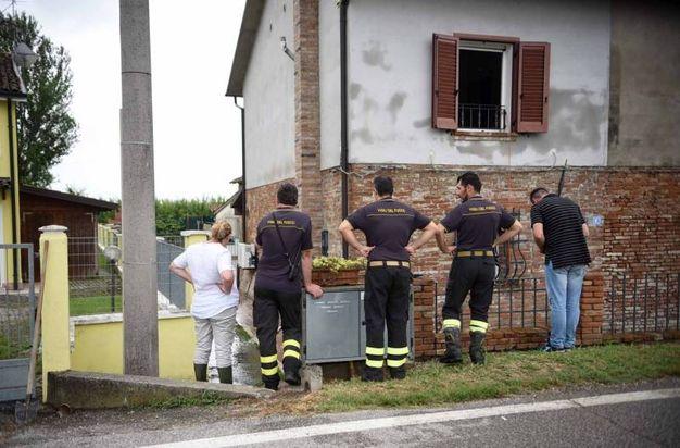 Allagamenti in provincia di Ferrara (foto Businesspress)