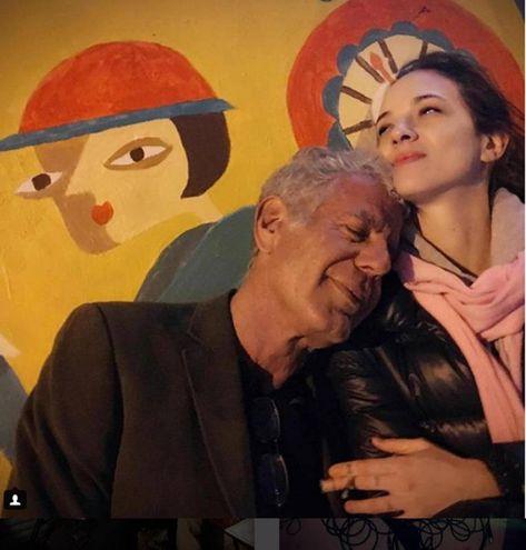 Anthony Bourdain e Asia Argento (Ansa)