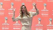 Ilary Blasi, conferenza stampa Mediaset Mondiali Russia 2018 (Imagoeconomica)