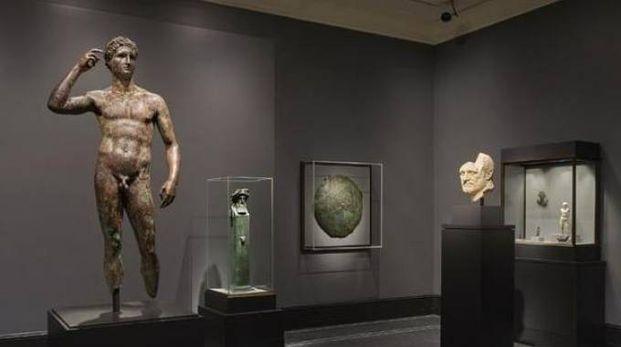 Il Lisippo conservato al Getty museum
