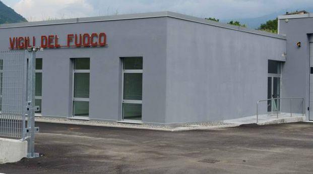 La nuova sede della caserma dei Vigili del fuoco non operativa