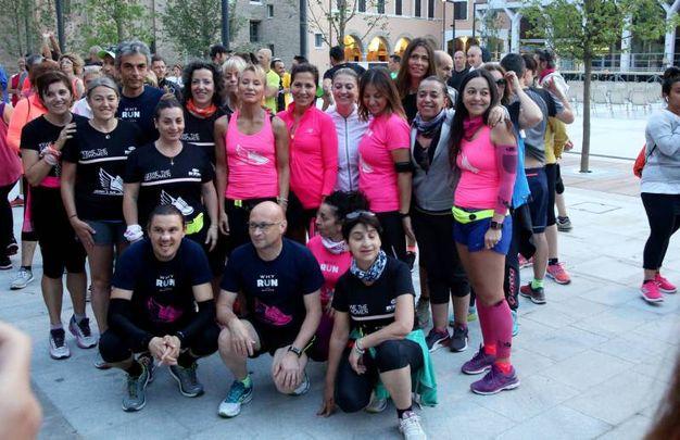 Ben 400 podisti cesenati hanno partecipato questa mattina all'alba alla '5.30 run'