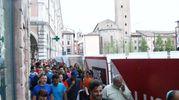 La corsa si è svolta lungo il percorso della podistica di San Giovanni in programma sabato prossimo