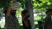 Le riprese di Coliandro, settima serie (foto Schicchi)
