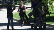 Le riprese di Coliandro sbarcano ai Giardini Margherita (foto Schicchi)