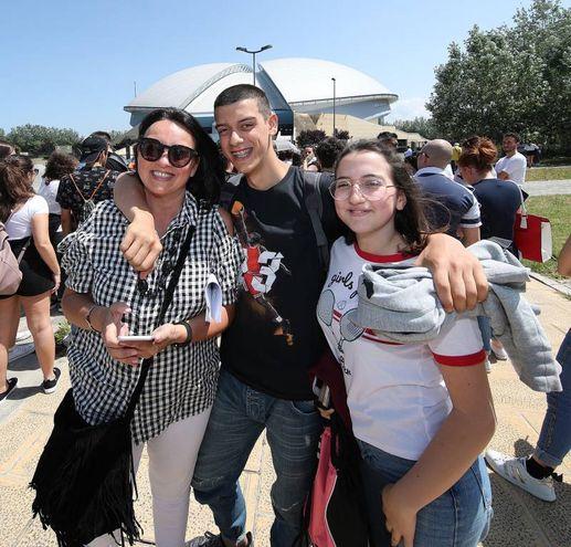 Da Renacati,Paola Buschi con il figlio Nicola e la nipote Benedetta (Fotoprint)