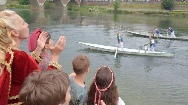 La gara barcè sul Ticino