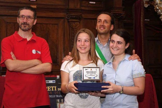 Tappeti piccoli, secondo premio: Amici della Pistelli (foto Umicini)
