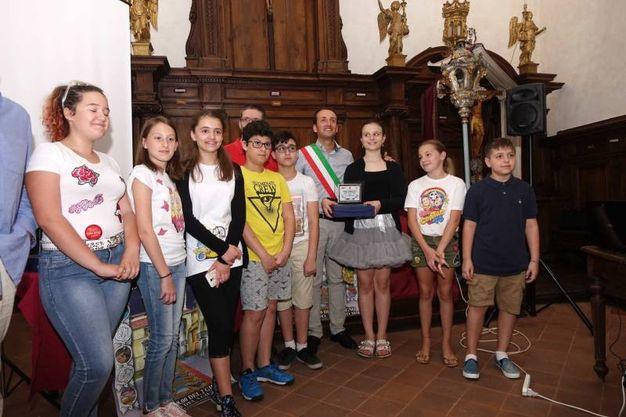 Tappeti piccoli, terzo posto: Oratorio Frati (foto Umicini)