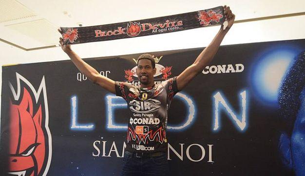Festa per Leon a Perugia (foto Crocchioni)