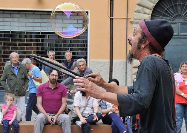 Il fascino delle bolle (Fotoprint)