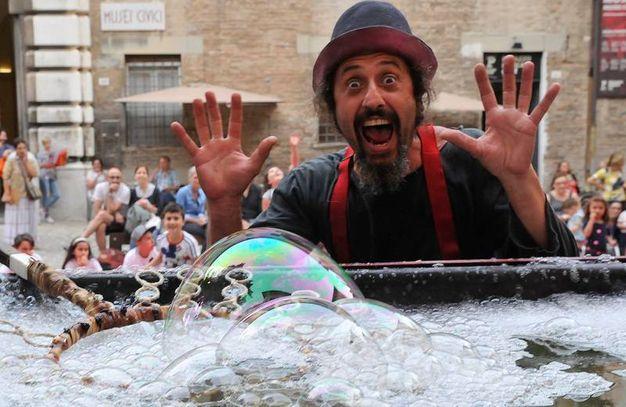 La magia delle bolle (Fotoprint)