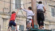 Giochi in piazza del Popolo (Fotoprint)