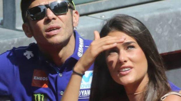 INSIEMEFrancesca Sofia Novello, 24 anni, al gran premio del Mugello con Valentino Rossi, 39