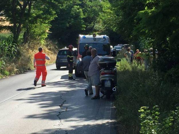L'incidente è avvenuto attorno alle 9 di mattina (foto Zeppilli)