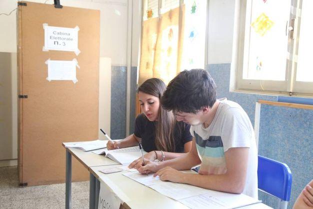 A Sarsina spetta il primato del più giovane dei candidati sindaco in regione: Francesco Romagnoli, 21 anni (foto Ravaglia)